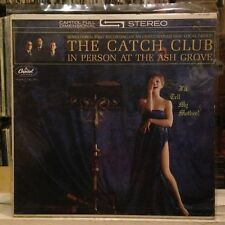 [SOUL/JAZZ]~NM LP~The CATCH CLUB~I'll Tell My Mother~In Person At Ash Grove~1962