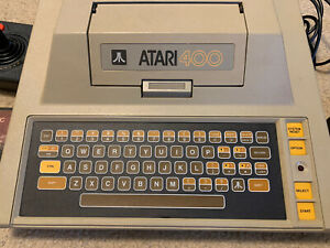 Atari 400 Computer System Console + Basic, Missile Command, Star Raiders. TESTED