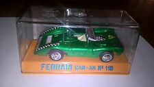 Joal art.116 Ferrari Can Am colore verde met.to con box. Come nuovo.