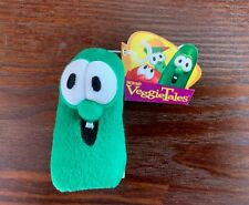 Veggie Tales Larry the Cucumber Plush Finger Puppet by Big Ideas - New/Rare!