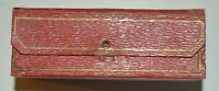 Collectable vintage antique Faudel's, London sewing kit folding needle box