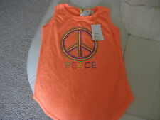 "Chaleco Top Con Cuentas BNWT ""Free for humanity 'Talla S/M"