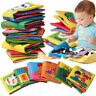 1PC Kid Baby Intelligence Development Cloth Fabric Cognize Book Educational Toy