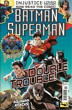 BATMAN / SUPERMAN # 4 / INJUSTICE GODS / DC / TITAN COMICS UK / JULY 2014 / N/M