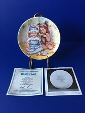 """Wedgwood Collector Plate """"The Recital"""" By Mary Vickers Wedgwood Queens Ware 1984"""