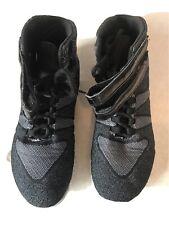 Ladies Nfinity Titan Onyx Cheer Cheerleading Shoes Gray Women's Size 8 $120 MSRP