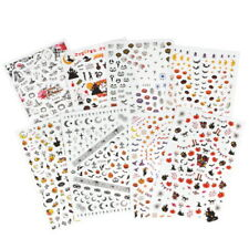 12 Sheets Nail Art Stickers Decals for Girls Kids Manicure DIY UK
