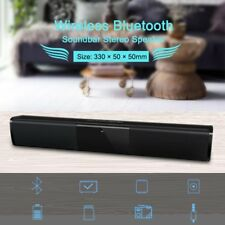 Bluetooth Wireless  Subwoofer Soundbar Powerful TV Sound Bar 3D Home Theater US