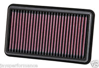 K&N SPORTS AIR FILTER FOR KIA PICANTO 1.0/1.2 04/2011 - 2015