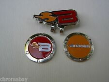 Golf Ball Marker Hat Clip  TAYLORMADE BURNER Red & Orange Markers
