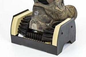 Outdoor Door Step Boot Scraper Brush Cleaner Mat Removes Mud Dirt Shoes & Wellys