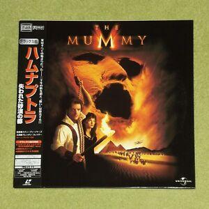 THE MUMMY [1999/Brendan Fraser] - RARE JAPAN DOUBLE LASERDISC + OBI (PILF-2800)