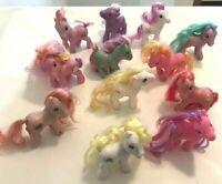 12PC My Little Pony MLP lot Hasbro - all different misc ponies from 2000's B