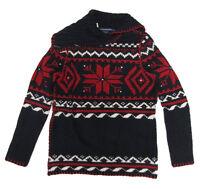 Ralph Lauren Sport Womens Italian Yarn Knit Turtleneck Mock Collar Sweater New