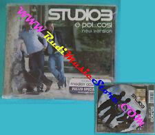 CD singolo STUDIO3 E Poi...Così NSCD 262 ITALY 2008 SIGILLATO no mc lp vhs(S29)