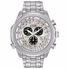Citizen Eco-Drive Men's BL5400-52A Chronograph Perpetual Calendar Bracelet Watch