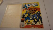 CABLE # 4, AUG 1993 MARVEL COMIC BOOK