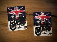 2x Bonneville Aufkleber Uk Cafe Racer Oldtimer England Old School Custom #191