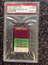 PSA 1977 Willie McCovey #475 Homerun Hr. TICKET Giants Looks Mint