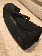 The Skyway Luggage Compartment Rolling Duffel Bag, Black Style: 435-5P-001-SET