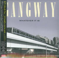 GANGWAY-WHATEVER IT IS-JAPAN CD BONUS TRACK F30