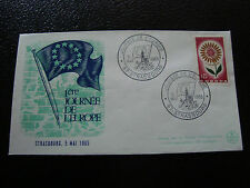 FRANCE - enveloppe 5/5/1965 (1ere journee de l europe) (cy19) french (A)