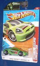 Hot Wheels Mitsubishi Eclipse Concept Car on Green Lantern card