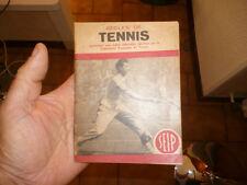 Regles de Tennis SEIP