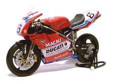 DUCATI 998 RS Macau GP 2002 Michael Rutter 1:12 Minichamps 122021296 NUOVO & OVP