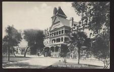 Postcard PASO ROBLES,California/CA  HOT SPRINGS HOTEL view 1907?