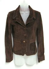 $915 Burning Torch USA Brown Suede Leather Jacket Gently Worn Once Sz P/S