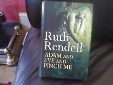Adam and Eve and Pinch Me-Ruth Rendell Hardback English Genre Fiction BCA 2001