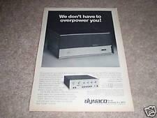 Dynaco Stereo 150 Amplificatore di Potenza Annuncio da 1975, Pat 5