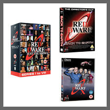 Red Dwarf Just The Shows Complete Series Seasons1 - 10 Back to Earth  X DVD R4
