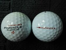 "8  PINNACLE ""PLATINUM DISTANCE""  Golf Balls - ""A"" Grade."