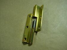 1 ONI Möbelband Messing Bandlänge 65 mm, rechts, gekröpft.