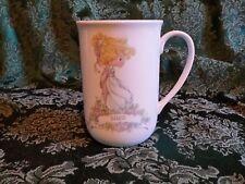 Vintage Precious Moments Personalized Sarah Mug Cup Coffee Tea 1989 Korea