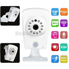 IP Wireless WiFi Security Camera HD 720P IR LED Night  SD Card 64G Recording 1c1