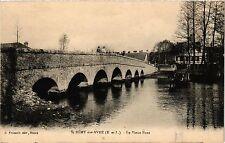 CPA St Remy sur Avre - Le Vieux Pont (360027)