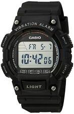 Casio Men's Illuminator Digital 100m Quartz Resin Black Watch W736H-1AV