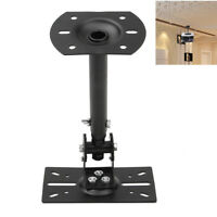 Adjustable 360° Steel Speaker Ceiling Wall Mount Brackets Rotate Heavy Duty