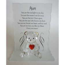 Poetic Bear Mum Ideal Gift, comes with presentation box