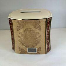 Croscill Townhouse Tissue Cover ceramic Bathroom