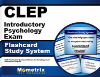 CLEP Introductory Psychology Exam Flashcard Study System
