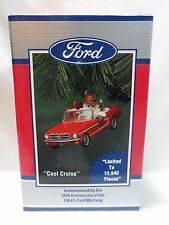"1964 1/2 Ford Mustang ""Cool Cruise"" Enesco Christmas Ornament 30th Anniversary"