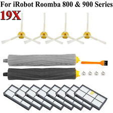 19pc For iRobot Roomba Filters 800 & 900 Series 860 880 890 960 980 Vacuum Brush