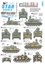 Star Decals 1/35 ZSU-23-4 Middle East and Arabic War Versions