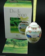 Hutschenreuther Porzellan Das Ei Osterei 2000 mit Originalverpackung NEU 1.Wahl