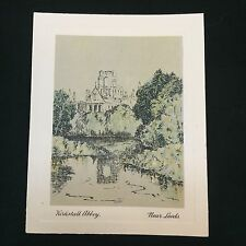 Picturesque Old England Cigarette Card Kirkstall Abbey De Reszke J Millhoff 1931
