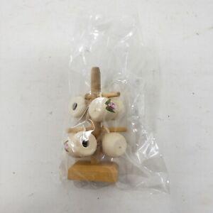 Blumen Becher Rack Shadow Verpackung Miniaturen Diorama Puppe Haus Curio Display